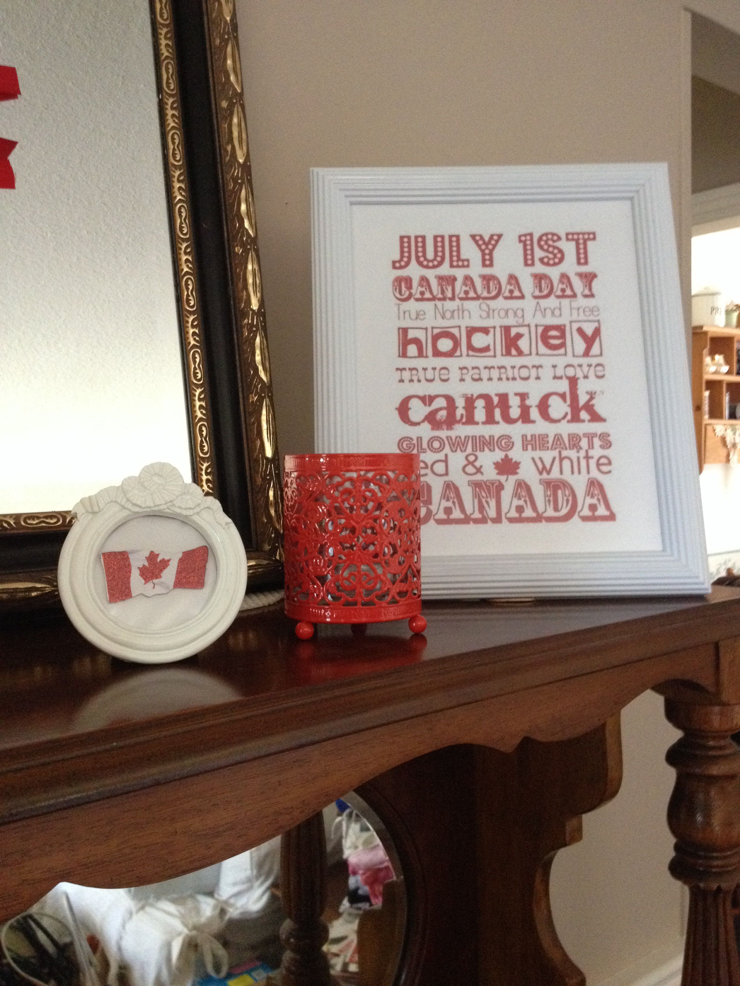 Canada day decor canada day holiday decor decor
