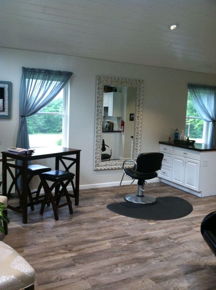 Small Home Hair Salon Ideas