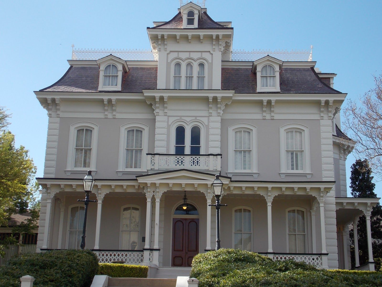 Second Empire Exterior House Styles Traditional House Victorian Homes