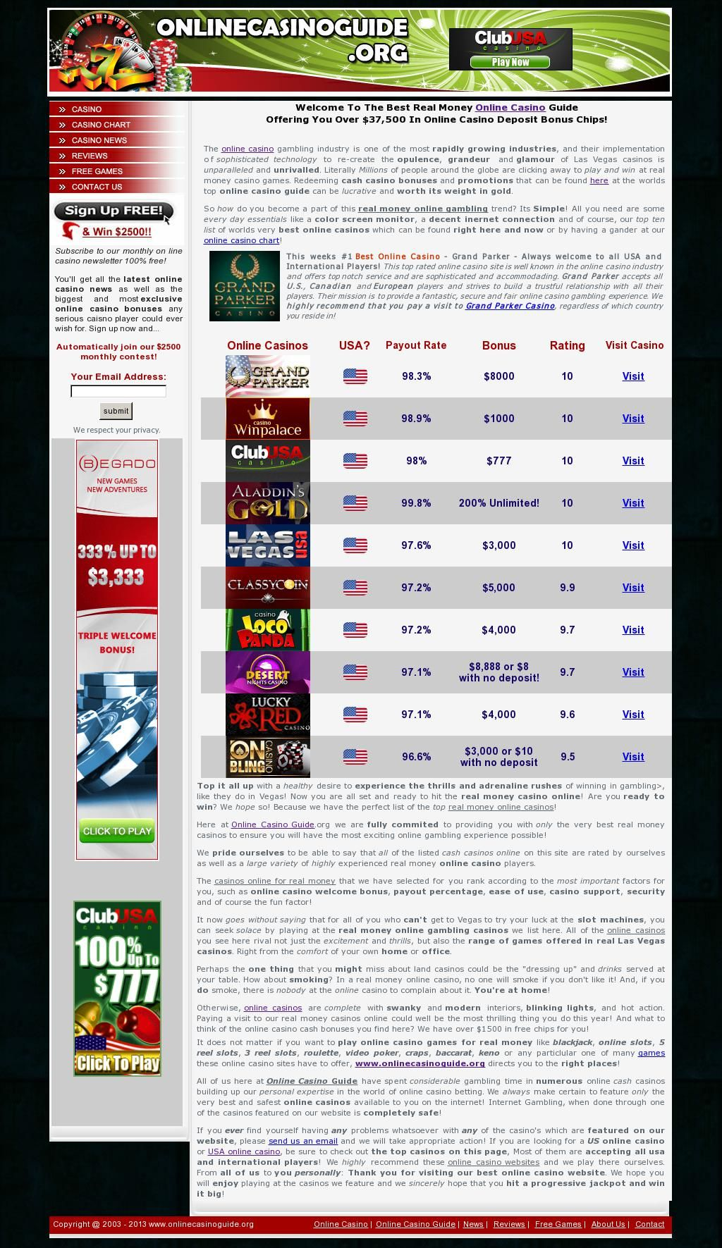 the best online casino in the world