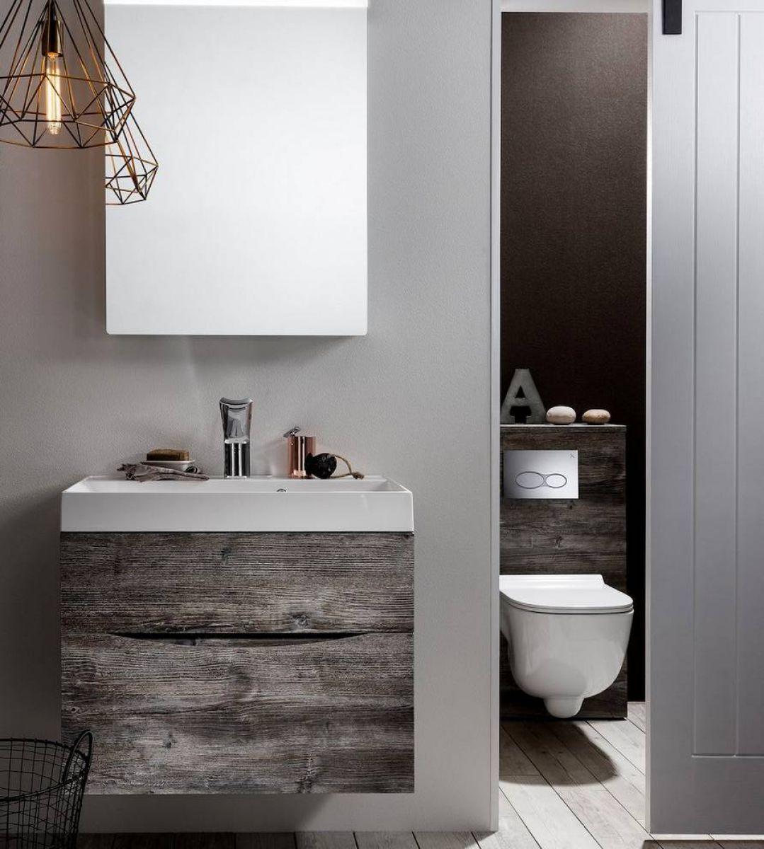 Luxury Bathroom Vanity Units Uk bauhaus glide ii wall hung vanity unit : uk bathrooms | cloakroom
