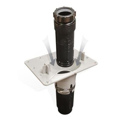 Maax F2 Drain Abs Kit For Freestanding Bathtub Installation Black