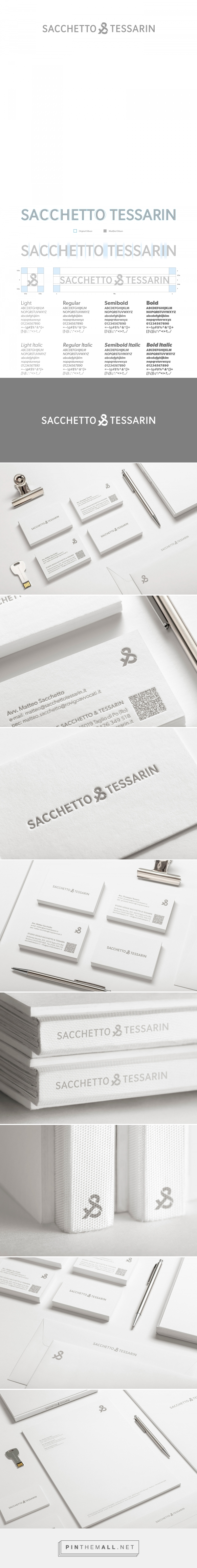 Sacchetto & Tessarin / Law Firm / Branding on Behance - created via…