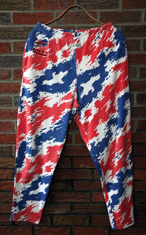 Vintage 90 S Buffalo Bills Zubaz Splash Pants Sz L Vintage Sportswear Buffalo Bills Vintage