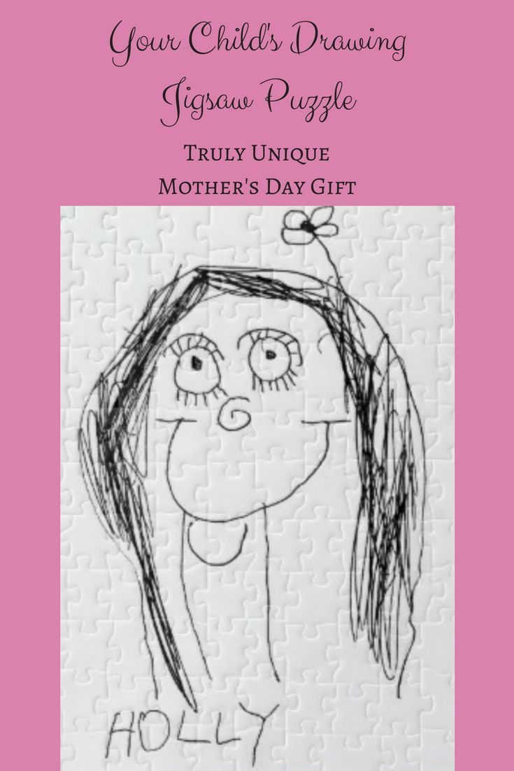 Turn Your Child\'s Drawing into a truly unique mother\'s day present ...
