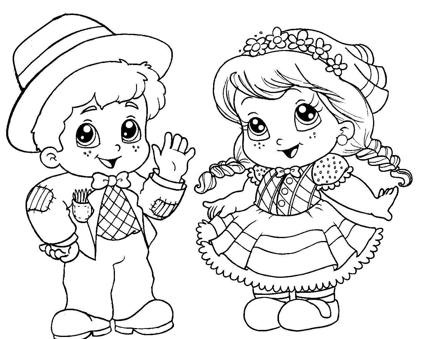 Festa Junina Com Imagens Festa Junina Para Colorir Desenho