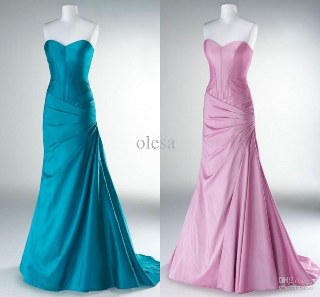 Manaquines Aqua Prom Dresses