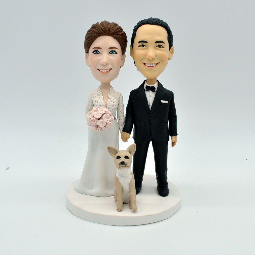 Wedding Bobbleheads,Custom Personalized Kissing Bride & Groom ...