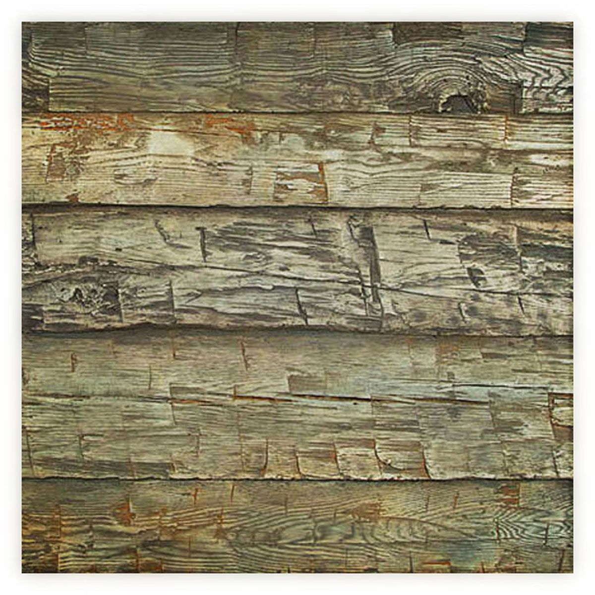 8 Inch W X 10 Inch H Hand Hewn Endurathane Faux Wood Siding Panel Sample Weathered Blue Wood Panel Siding Wood Siding Faux Wood