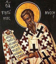 Saint Gregory of Nyssa. Church of Chora, Istanbul.