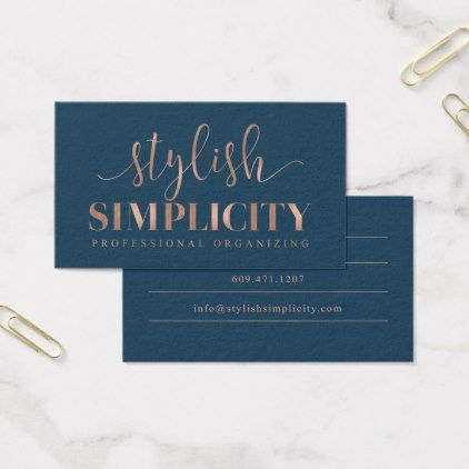 Custom Business Cards Stylish Simplicity Business Card Zazzle