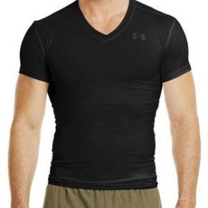 2d158eeeafb Under Armour Men s Tactical HeatGear® Compression V-Neck T-Shirt ...