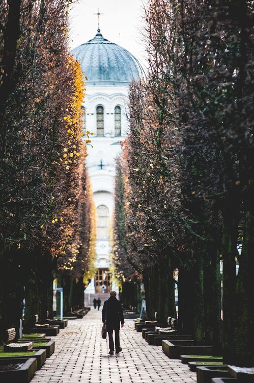 Laisves avenue in #Kaunas, #Lithuania