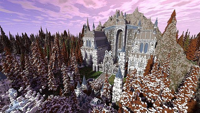 Ileysia – Palace of the Mages Minecraft World Save