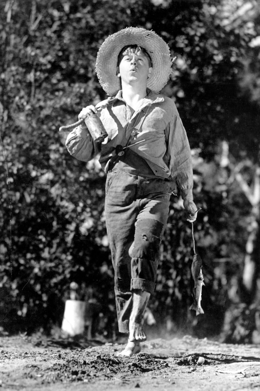 Mickey Rooney In Quot The Adventures Of Huckleberry Finn