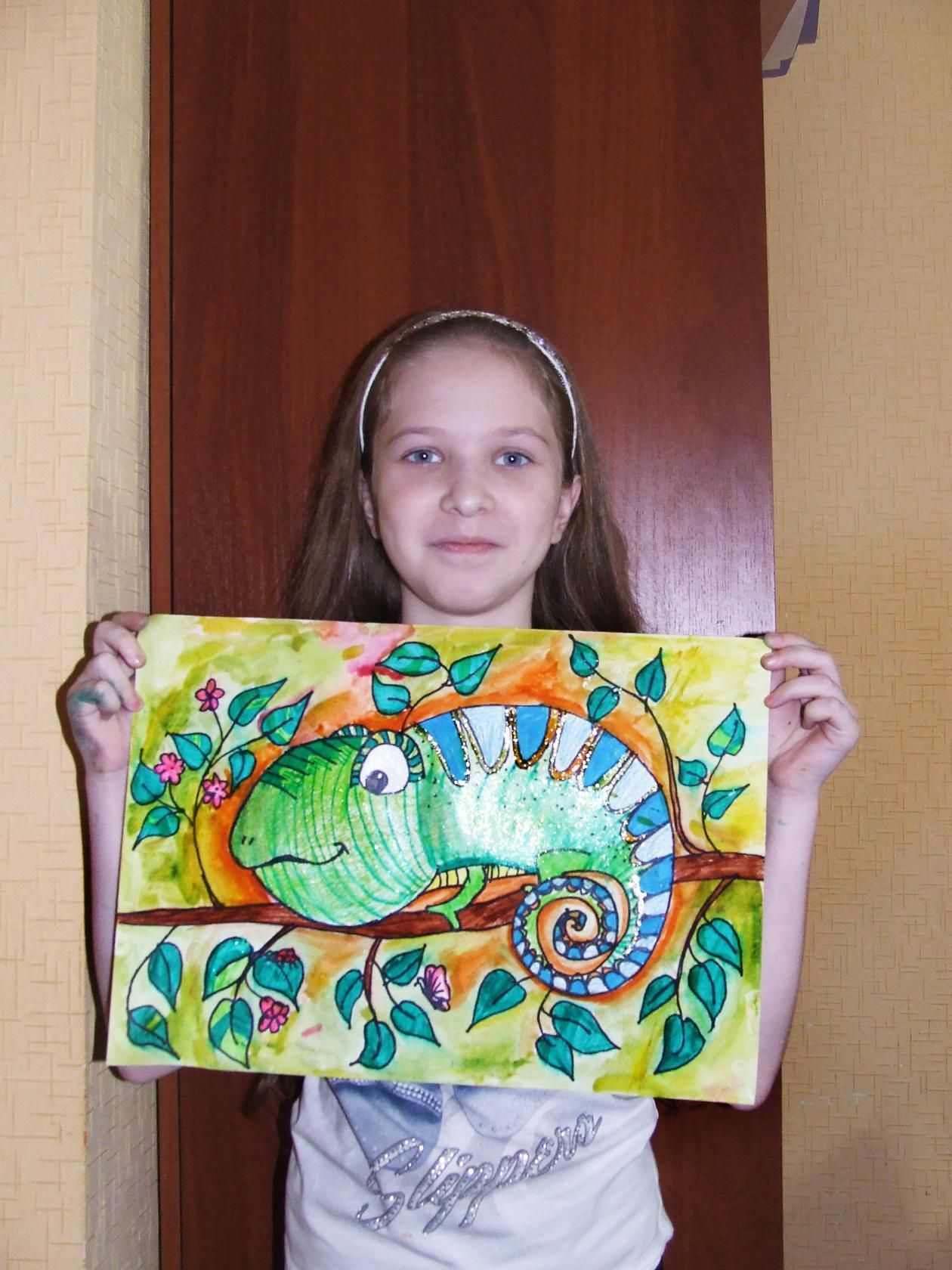 Рисунки детей из художественной школы