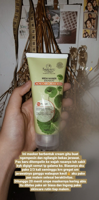 Cream Citra Menghilangkan Bekas Jerawat