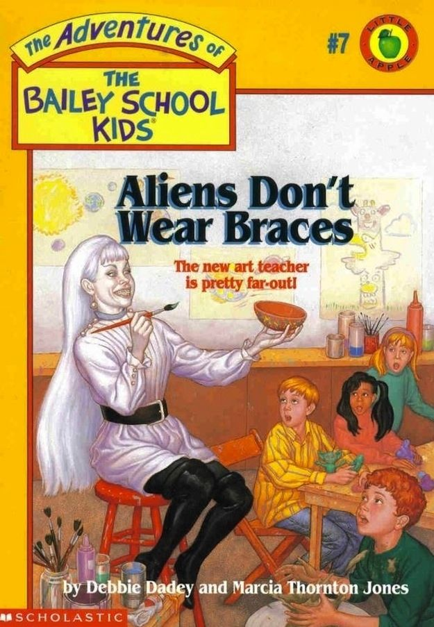 ea9acad4851a Aliens don't wear braces. | Oh the 90's <3 | Lessons learned in life ...