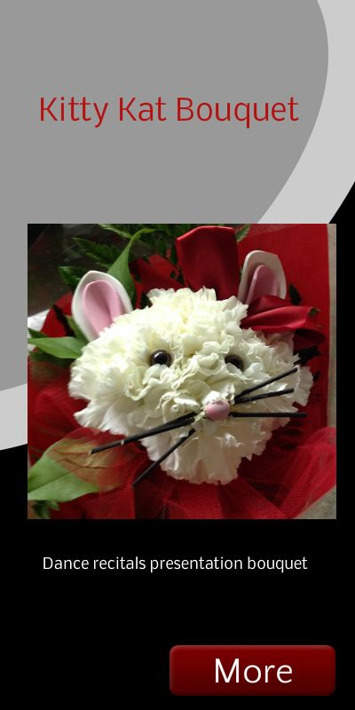 Country Lane Flower Shop\'s Kitty Kat hand-tied bouquet. Great for ...