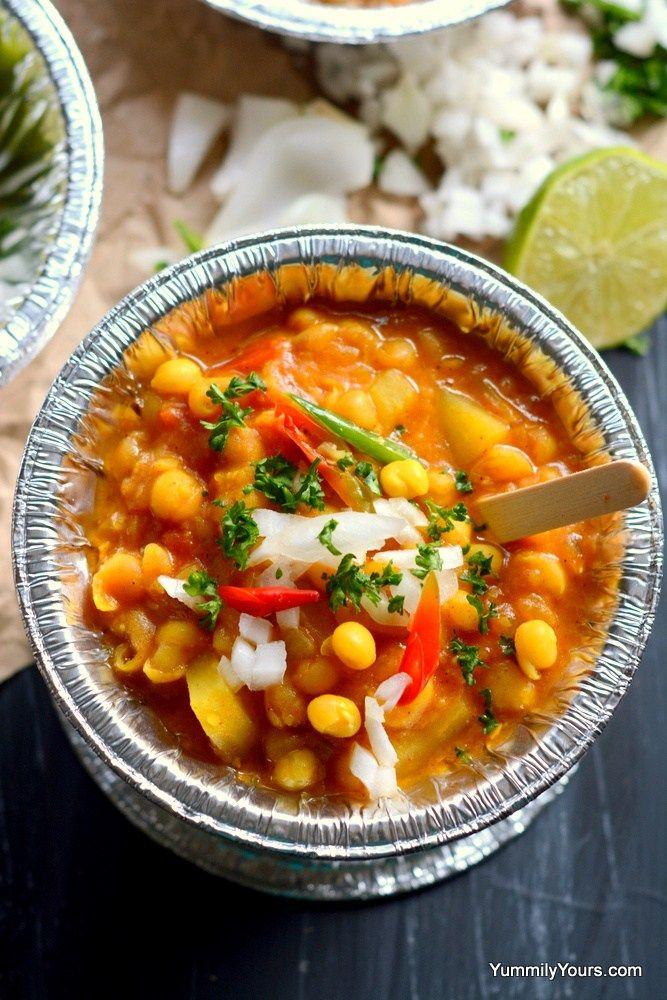 Ghugni Chaat Indian Street Food Recipe Food Indian Street