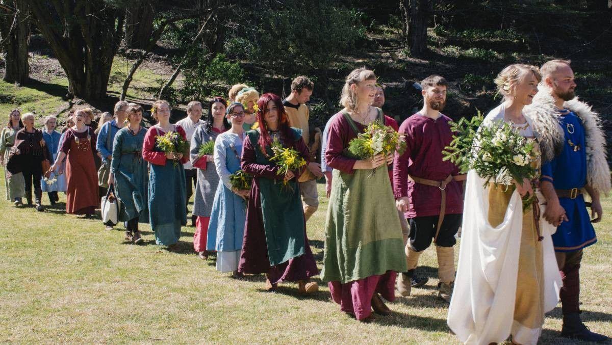 Pin by Tina McCaffrey on wedding ideas? Viking wedding