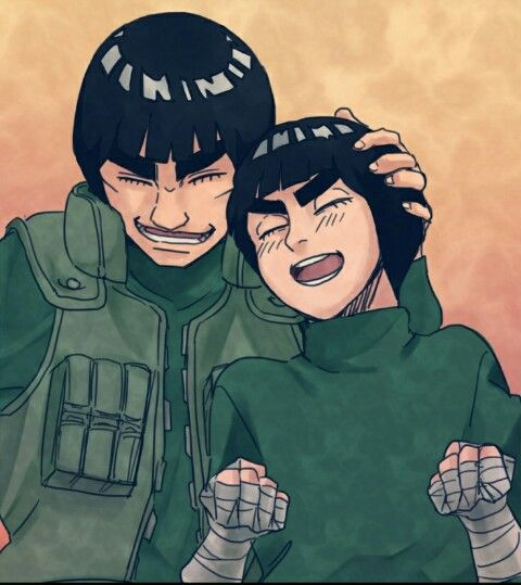 Gai Sensei And Rock Lee