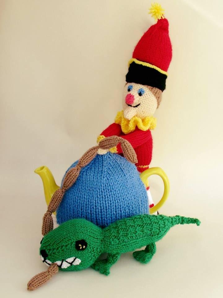 Mr Punch tea cosy knitting pattern   Quality Tea cosies   Pinterest ...
