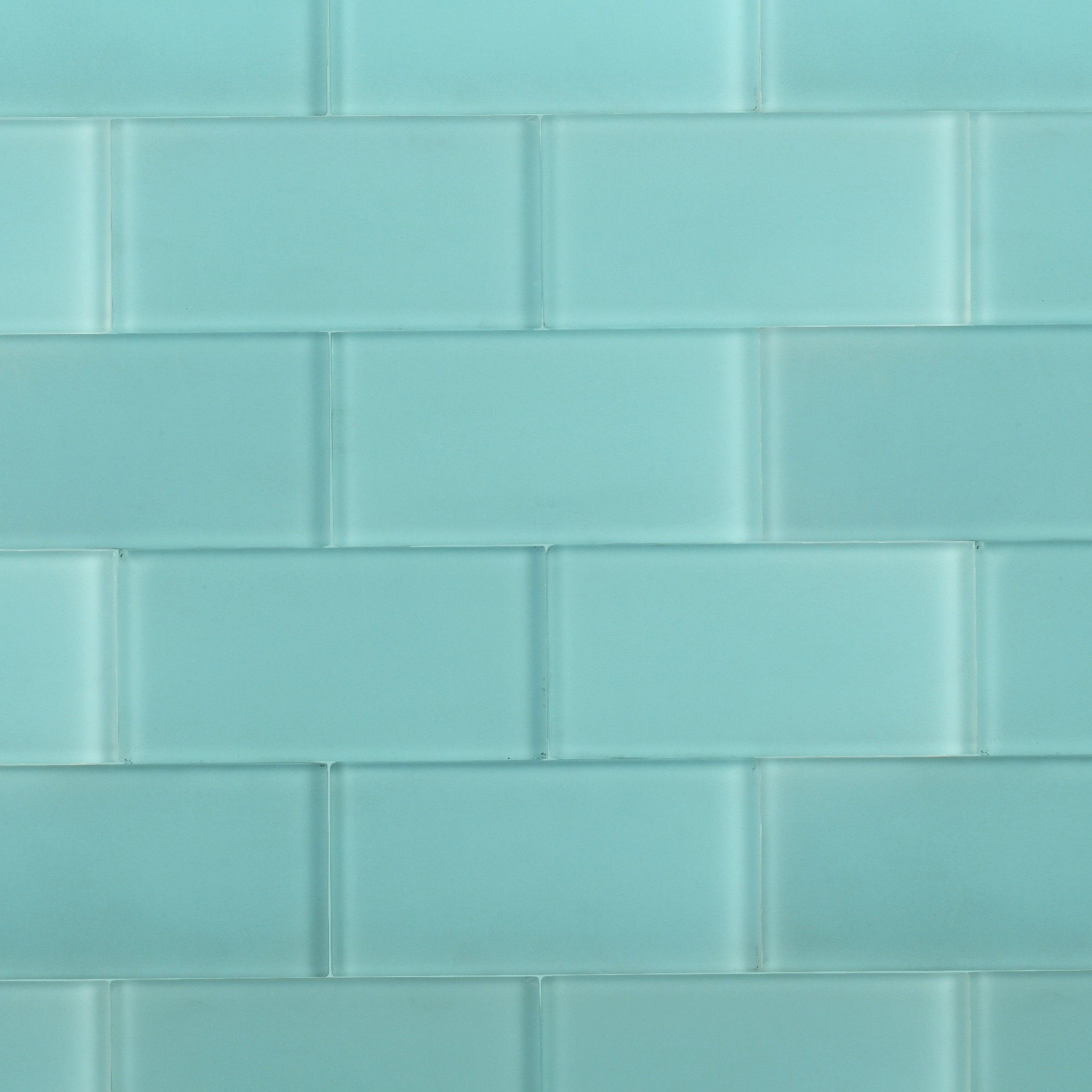 Turquoise Kitchen Wall Tiles: Shop For Loft Turquoise Frosted 3 X 6 Glass Tiles At