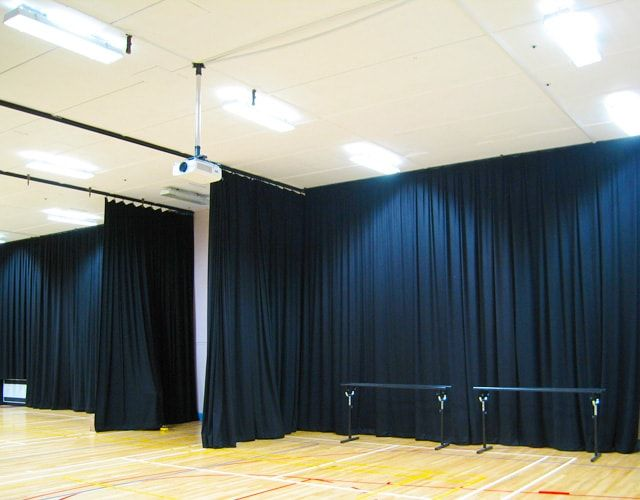 Amazing Black Wool Serge Acoustic Curtains Review - Minimalist sound curtains Simple Elegant