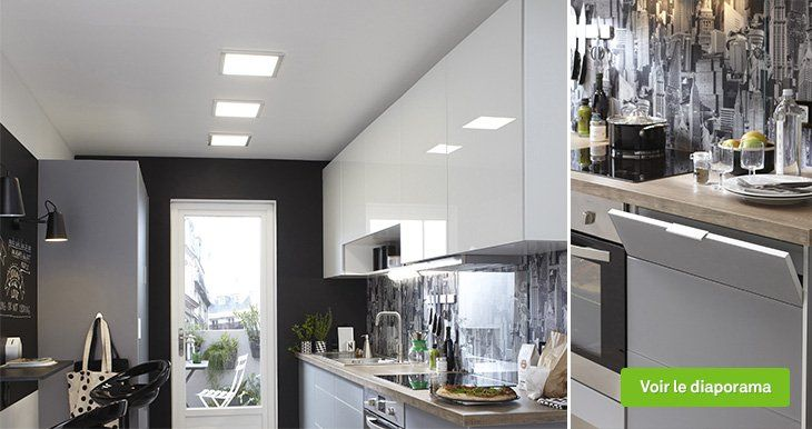 Meuble De Cuisine Blanc Delinia Everest Leroy Merlin Kitchen Furniture Design Contemporary Kitchen Modern Kitchen