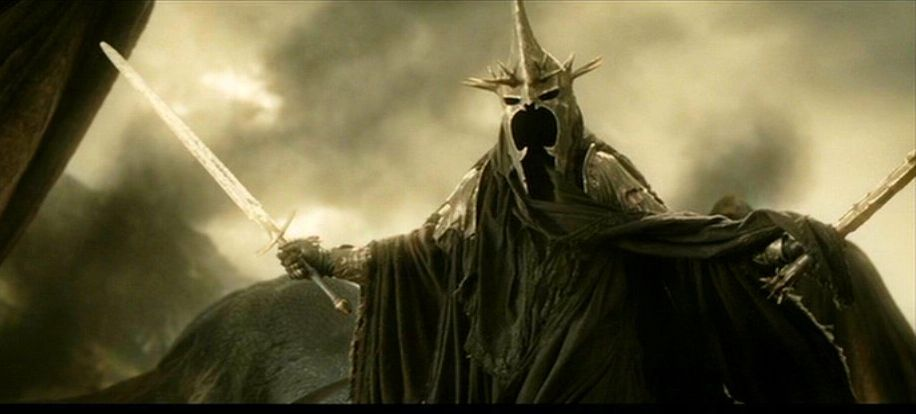 Everything I Write Relates Back To My Love For The Lord Of The Rings Part One Physical Presence Witch King Of Angmar Lord Of The Rings Witch