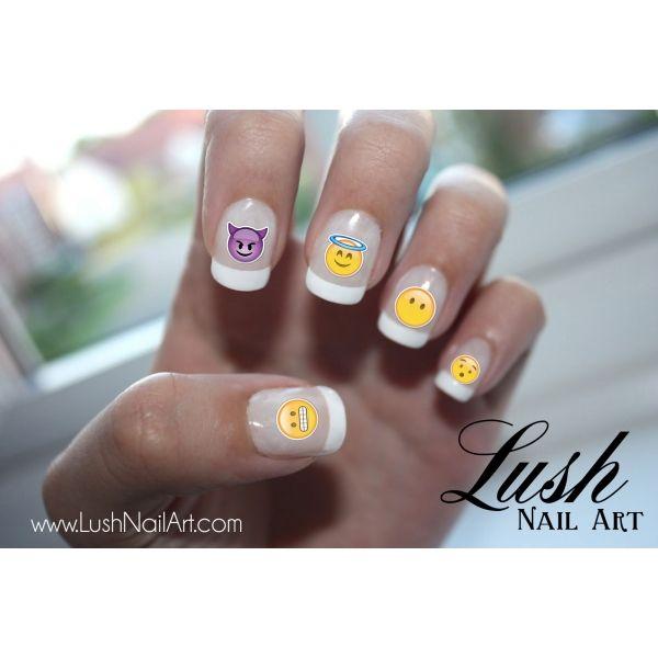 Emoji Nail Art Set- HireAbility