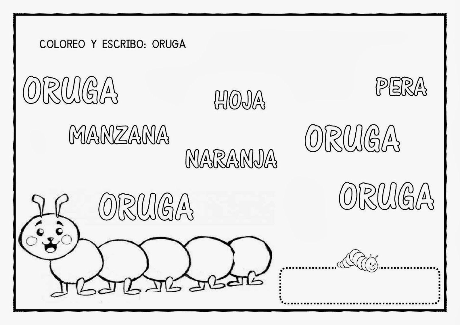 La granja de Daniela: CUENTO: LA PEQUEÑA ORUGA GLOTONA | Oruga ...