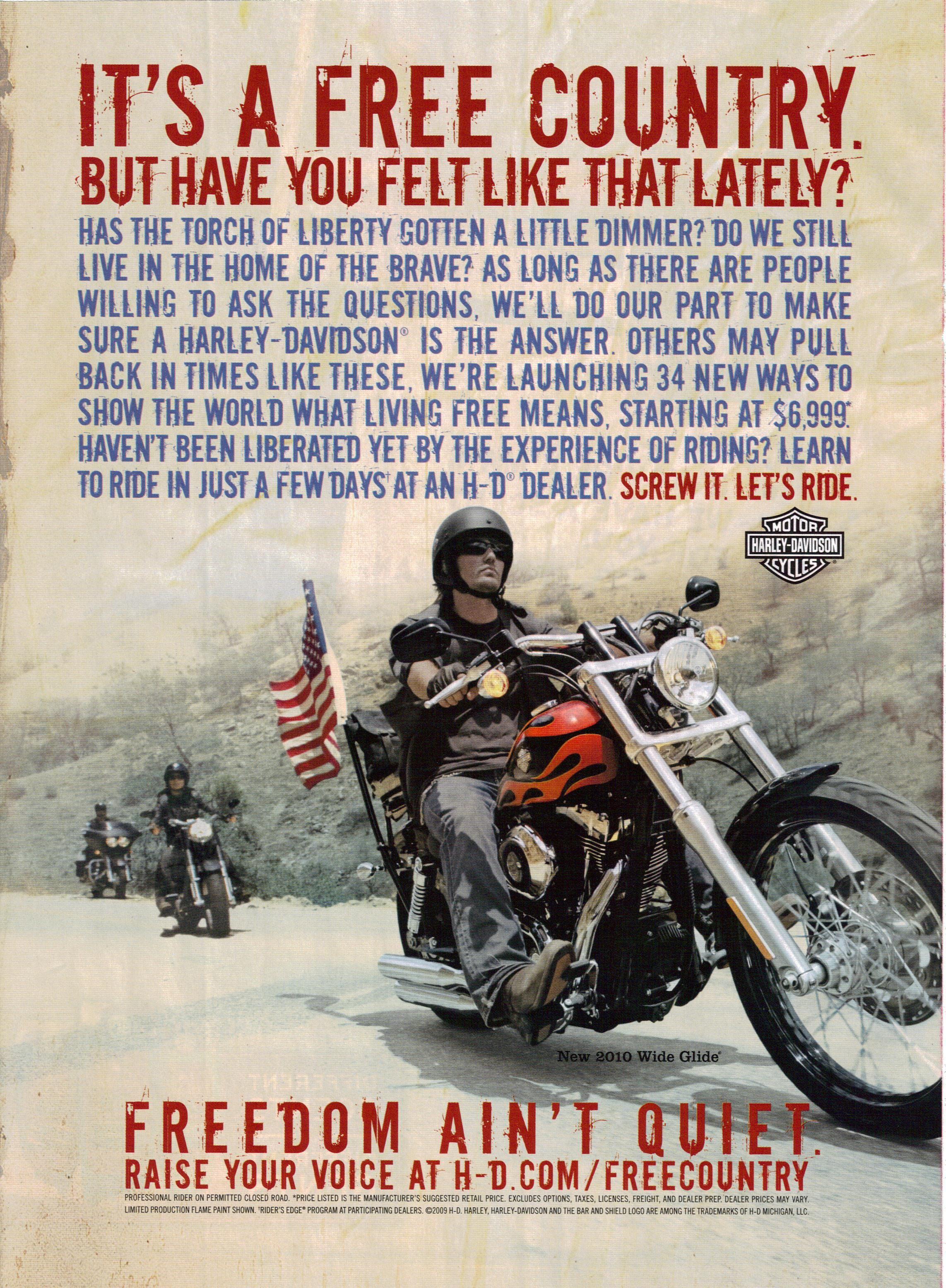 Harley Davidson Advertising: Harley-Davidson Vintage Ad This Is Absolutely Super