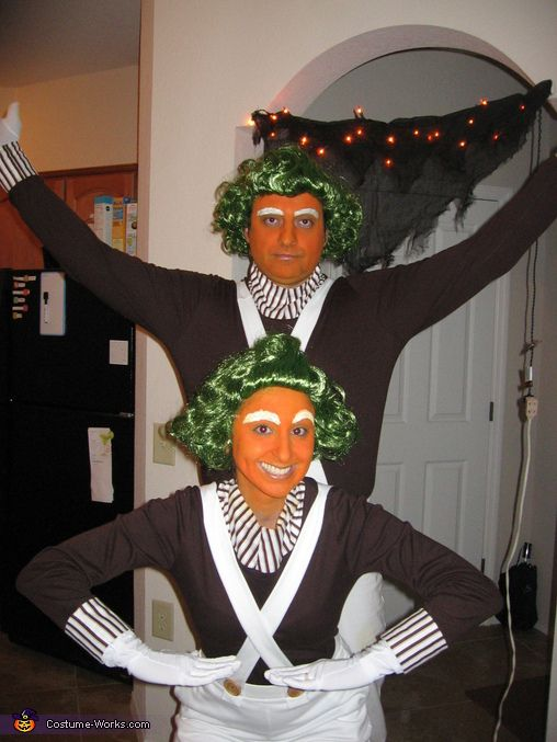 oompa loompas costumes - Oompa Loompa Halloween