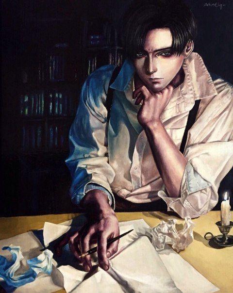 He looks so real...and hot!! :D   Levi ackerman, Bilder ...