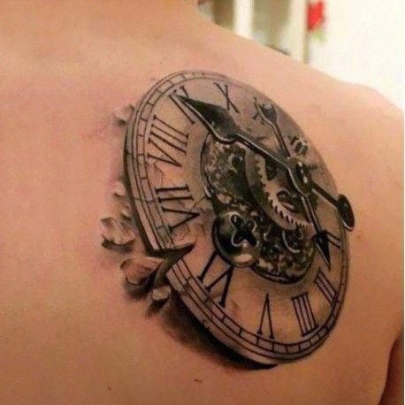 Borrado De Tatuajes Zonas Grandes Tatuaje Steampunk Tatuajes