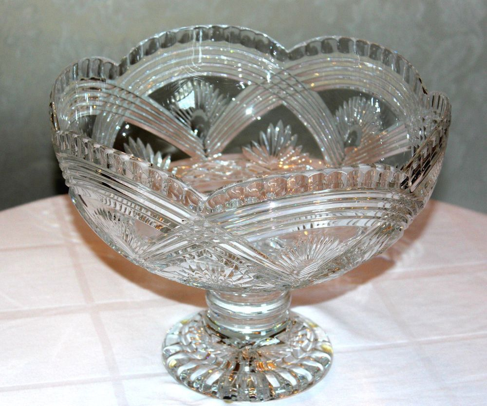 Waterford crystal rainbow pedestal centerpiece bowl prestige waterford crystal rainbow pedestal centerpiece bowl prestige collection waterfordprestige reviewsmspy