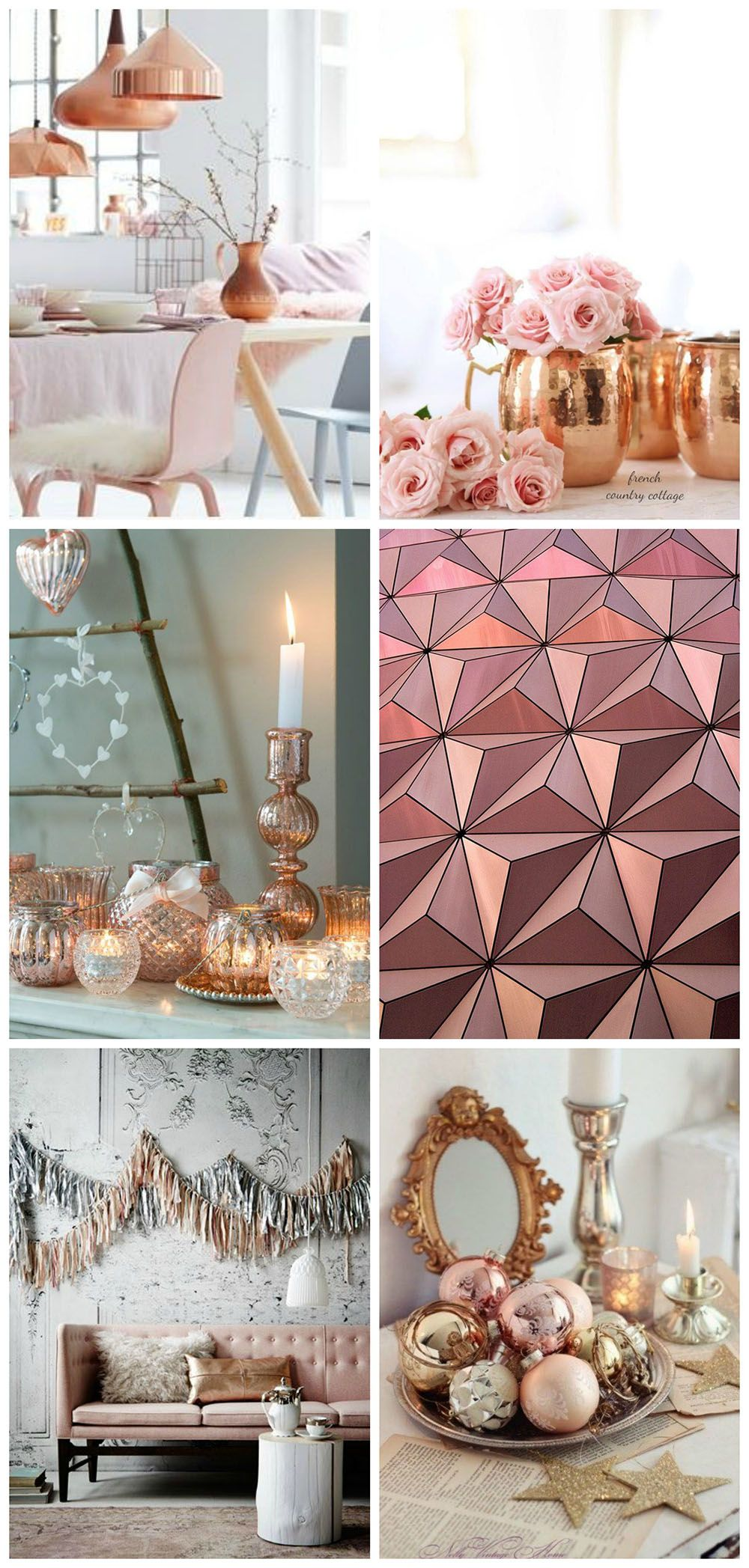 Mrphome Tips For Creating A Blush And Rose Gold Christmas Dining Table Rose Gold Christmas Table Rose Gold Christmas Christmas Table Settings