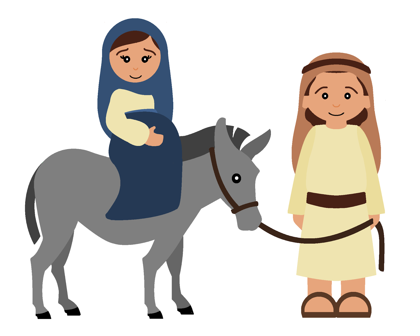 Coloring sheet mary and joseph bethlehem - Lesson Plans Of An Ocd Primary Chorister Song When Joseph Went To Bethlehem