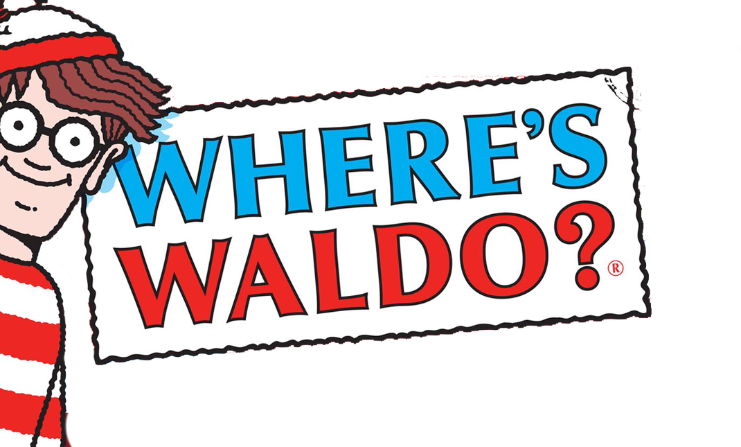 Where is Waldo Where's Waldo book game logo ウォーリー
