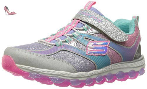 Fille Multicolore Baskets Skechers Silvermutli Pour wqPOYqxS