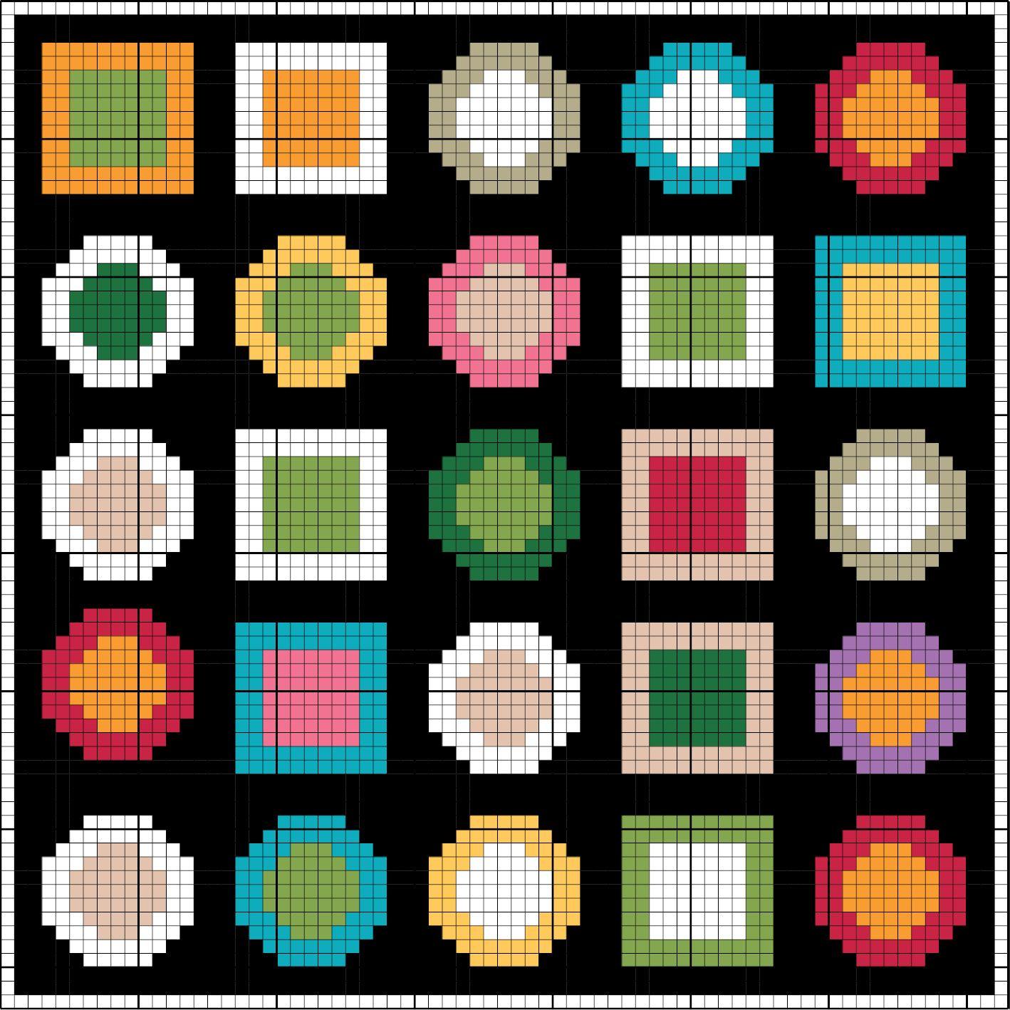 Amazing Stickerei Für Anfänger Kostenlos Muster Sketch - Decke ...