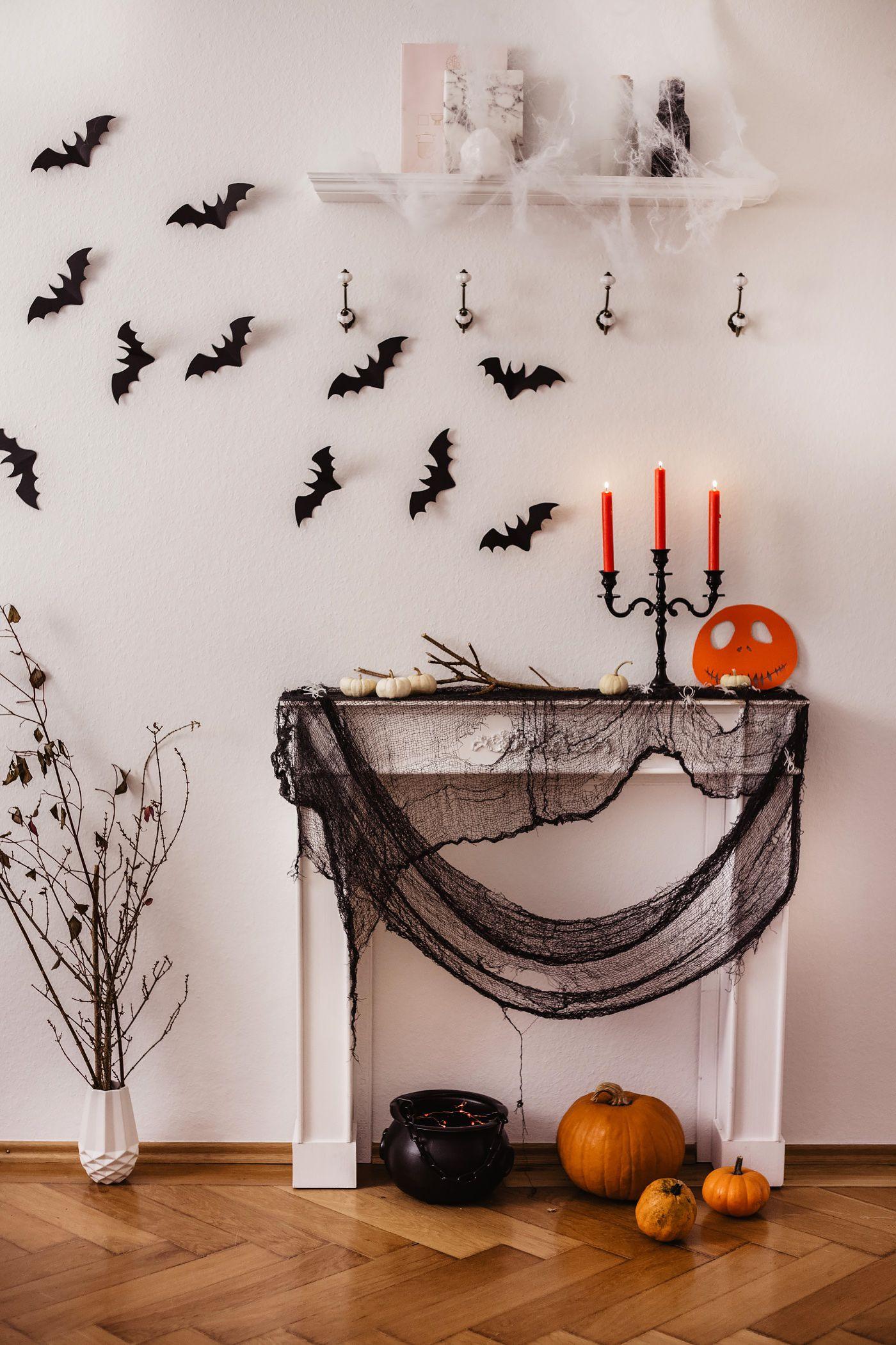Halloween Deko Selber Machen Diy Halloween Deko Selber Machen Gruselig Halloween Deko Halloween Deko Basteln