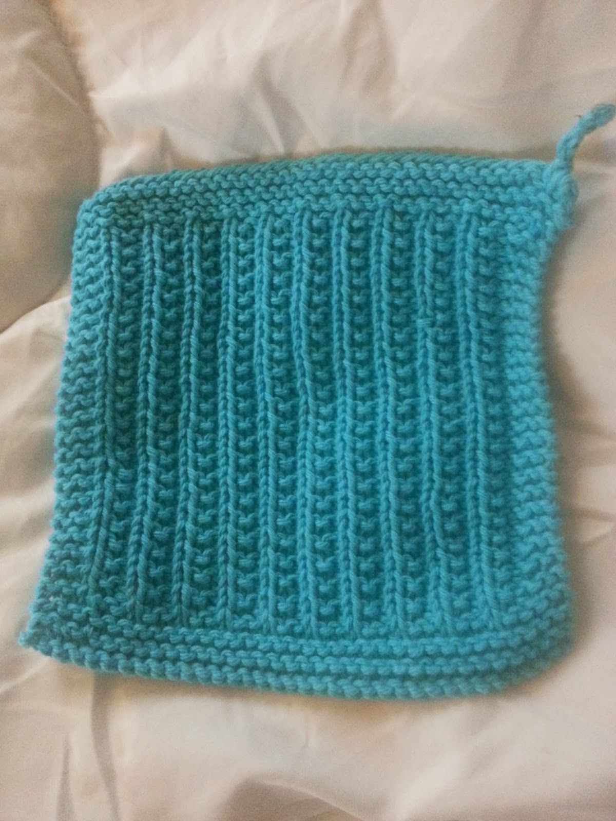 Sewing to Bliss: Cluster Rib Dishcloth Knitting Pattern | crochet ...
