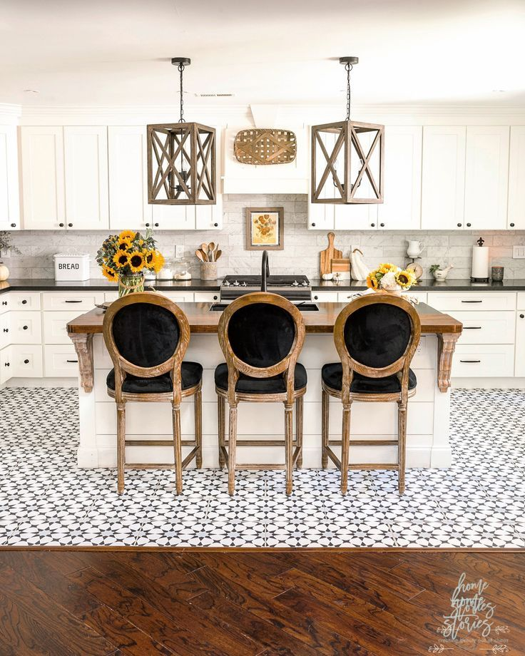 Early Fall Kitchen Decorating Ideas: Sunflowers ...