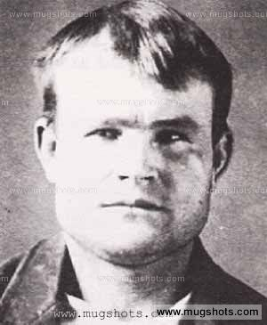 Butch Cassidy Mugshot - Outlaws | Persons of interest | Old west
