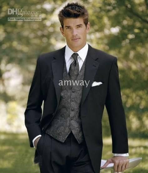 Groom Wedding Tuxedos Bridegroom Evening Party Man Suits Any Size Oem 593