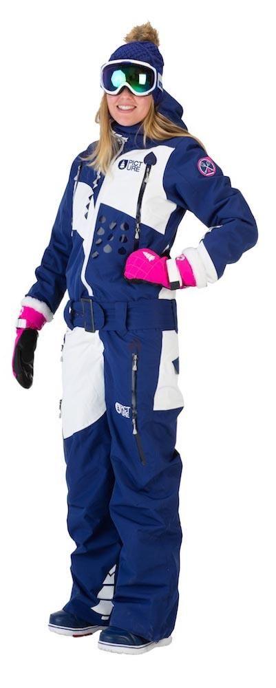 19aab8eff2bd Combinaisons Picture Organic Appola Suit Dark Blue Woman