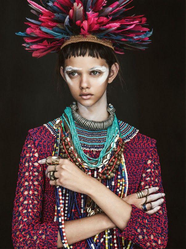"""Marina Nery"" for Vogue Australia April 2014 !!"